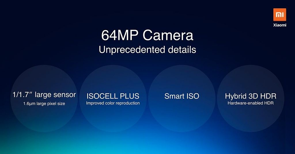 Xiaomi announces details of its 64MP phone, teases 108MP