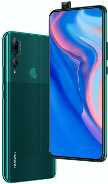 Huawei Y9 Prime (2019) with pop-up selfie camera officially