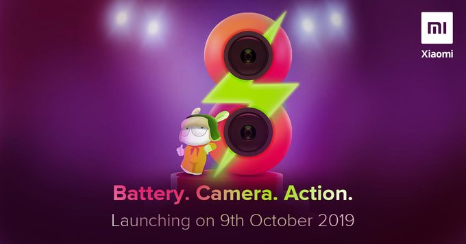 REDMI 8 india launch teased