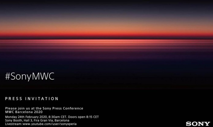 Sony MWC 2020