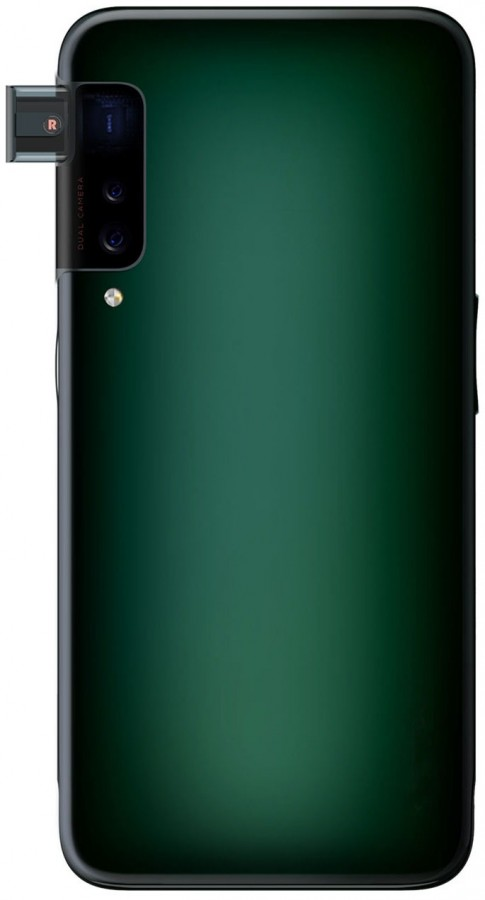 Oppo side pop-up camera