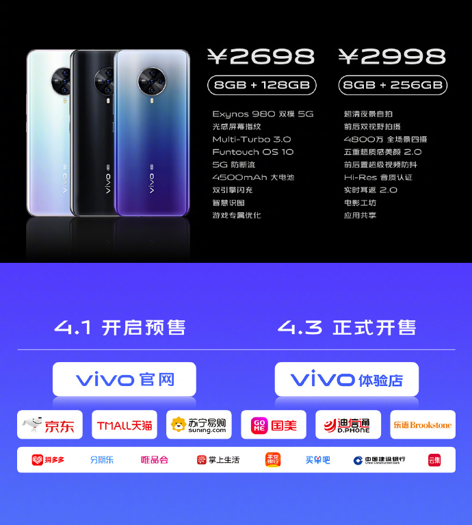 VIVO S6 5G price