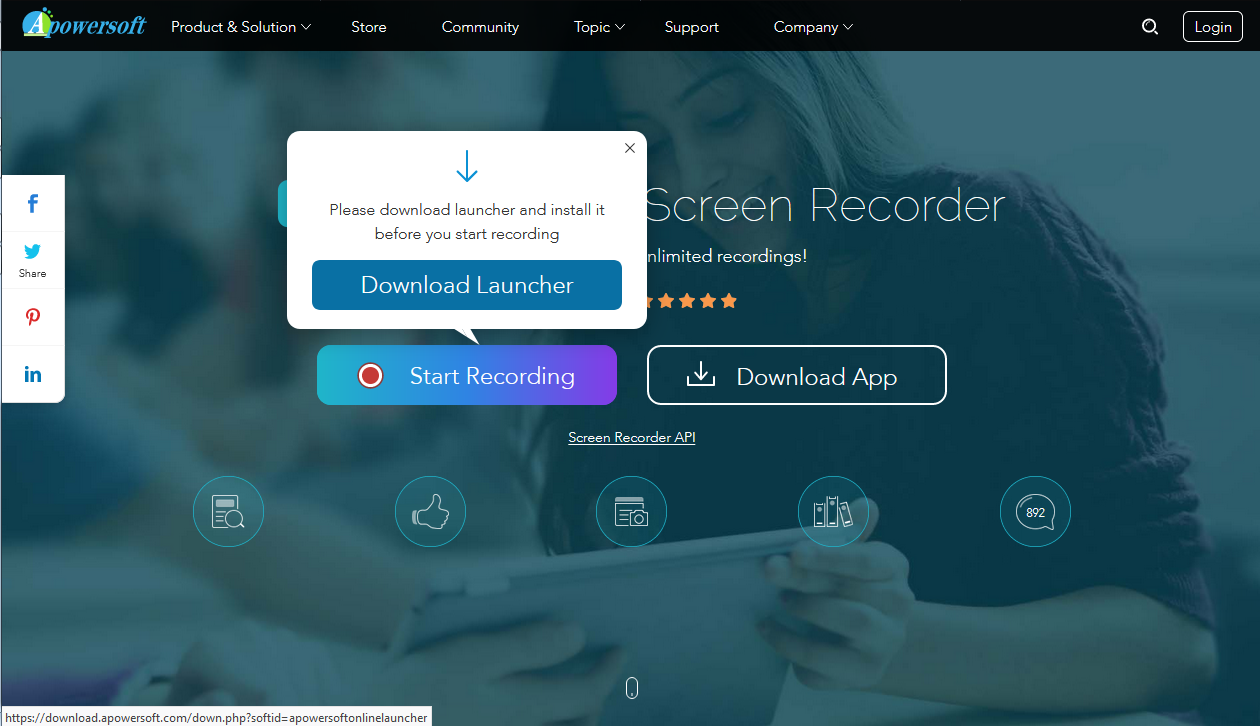 Apowersoft free screen recorder for pc windows old version