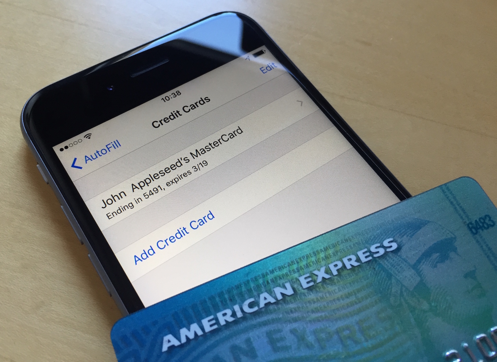 Remove Credit Card From icloud