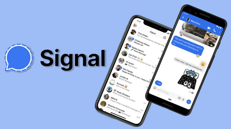 how to use Signal on Windows PC