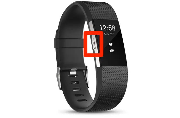 reset a Fitbit charge fitness band