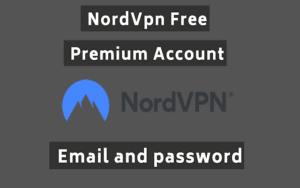 free NordVPN Premium Accounts