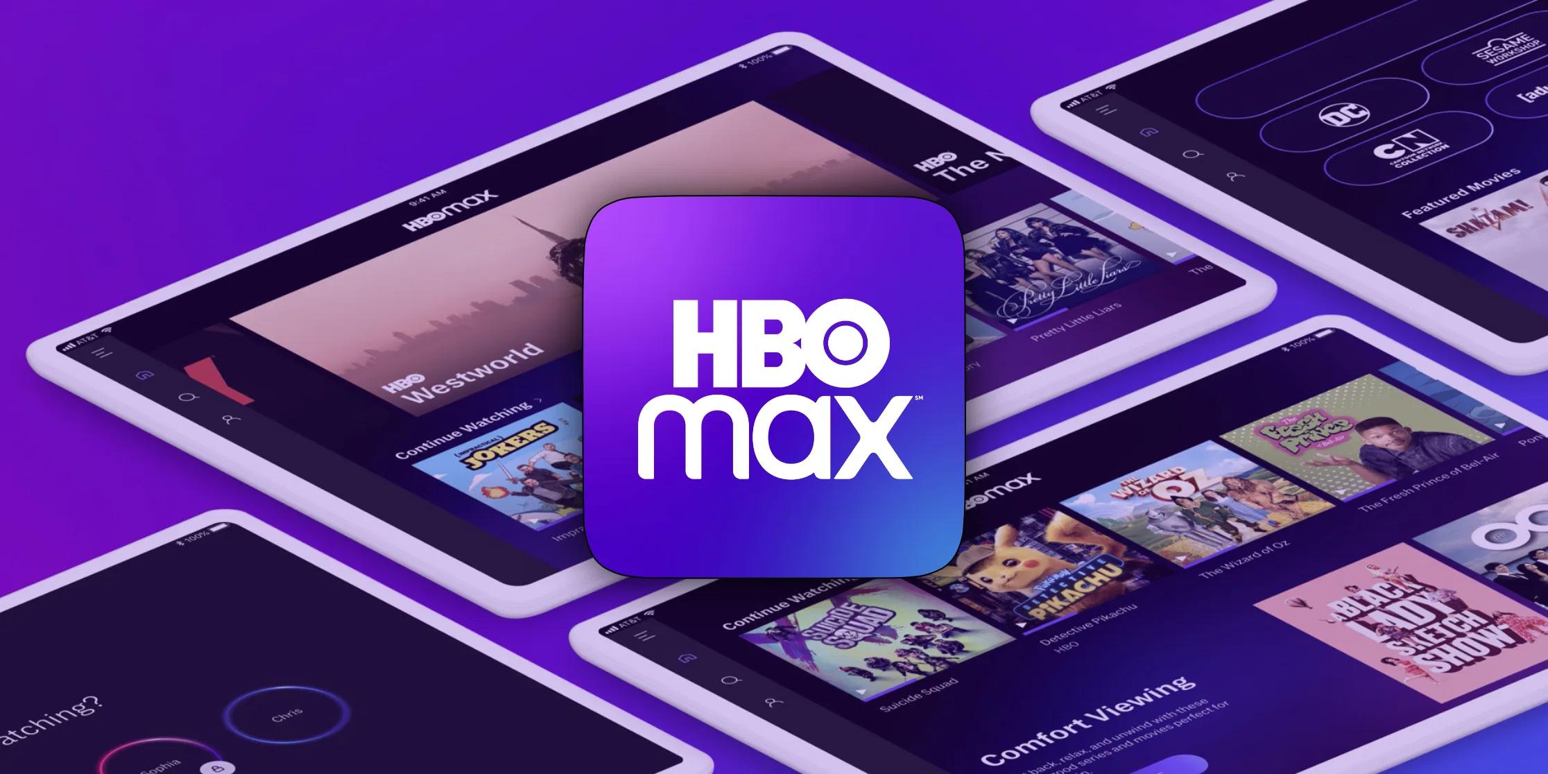 watch HBO Max on Apple TV app