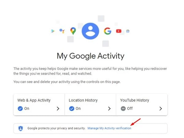 Password-Protect Your Google Search History