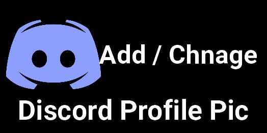 How to change a discord profile picture