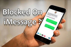 text somone who blocked you on your iPhone