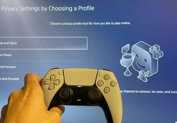 PlayStation 5's privacy settings