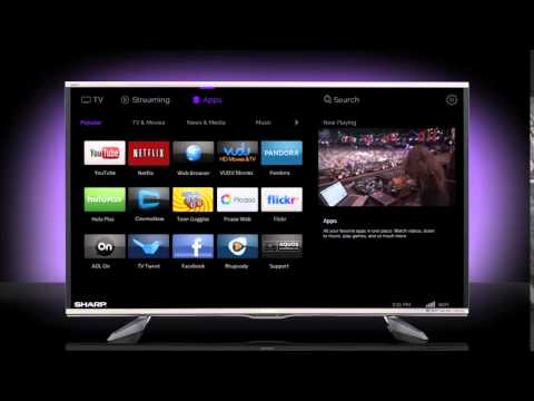 Download and Install Hulu on Sharp Smart TV